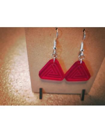 Boucle Acrylique - Triangle