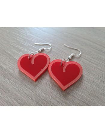 Saint Valentin - Coeur cerclé